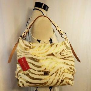 Dooney & Bourke Zebra Print Genuine Leather Purse